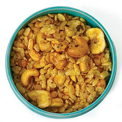 Spicy Indian Snack Mix