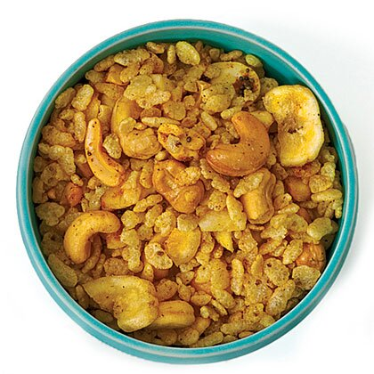 Spicy indian snack mix recipe myrecipes spicy indian snack mix forumfinder Image collections