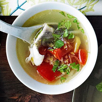 Simple fish soup recipe myrecipes simple fish soup forumfinder Choice Image