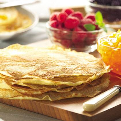 Easy dessert crepes recipe myrecipes easy dessert crepes ccuart Gallery