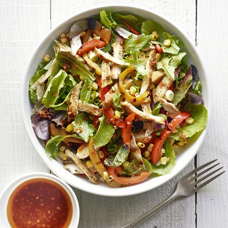 Quick Grilled Dinner Salad Recipe Myrecipes