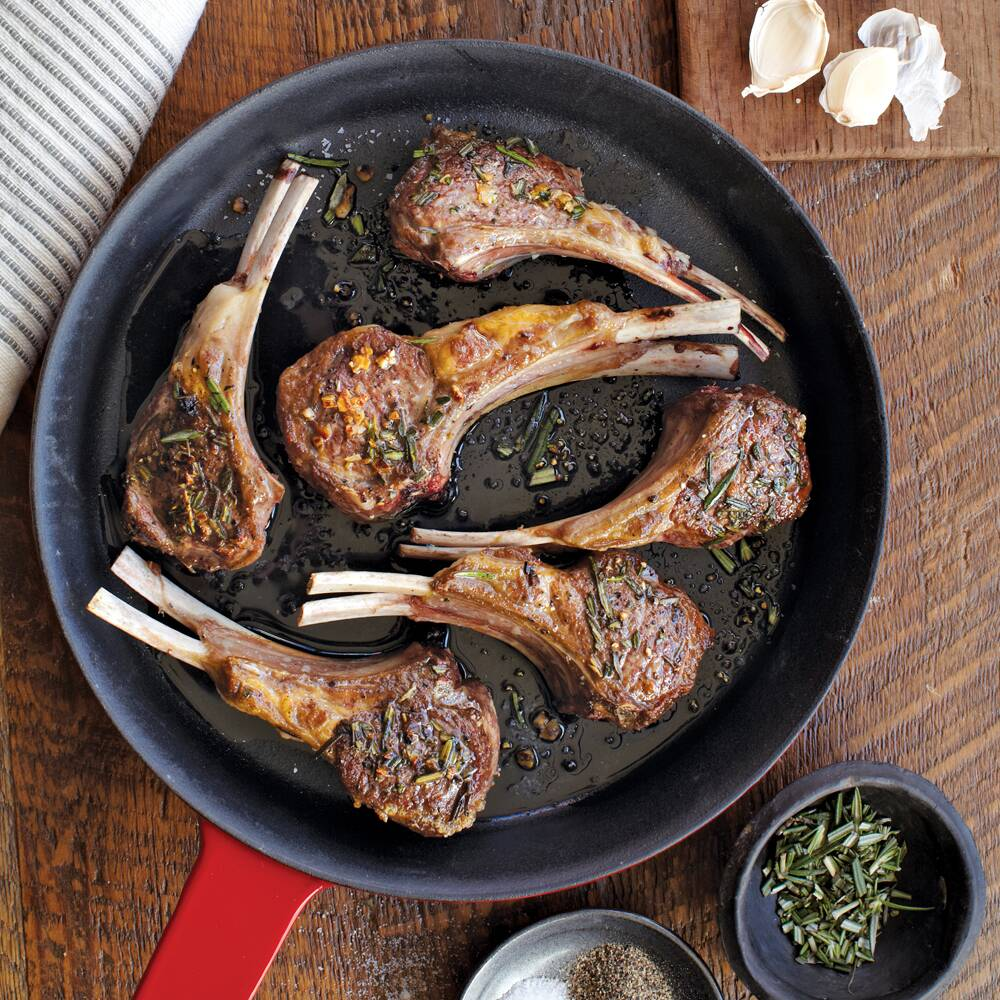 rosemary lamb chops recipe myrecipes