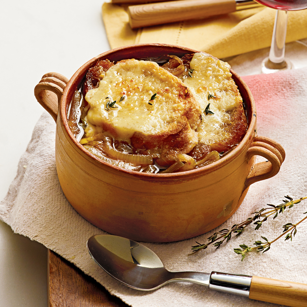 Country Kitchen French Onion Soup slow cooker french onion soup recipe | myrecipes