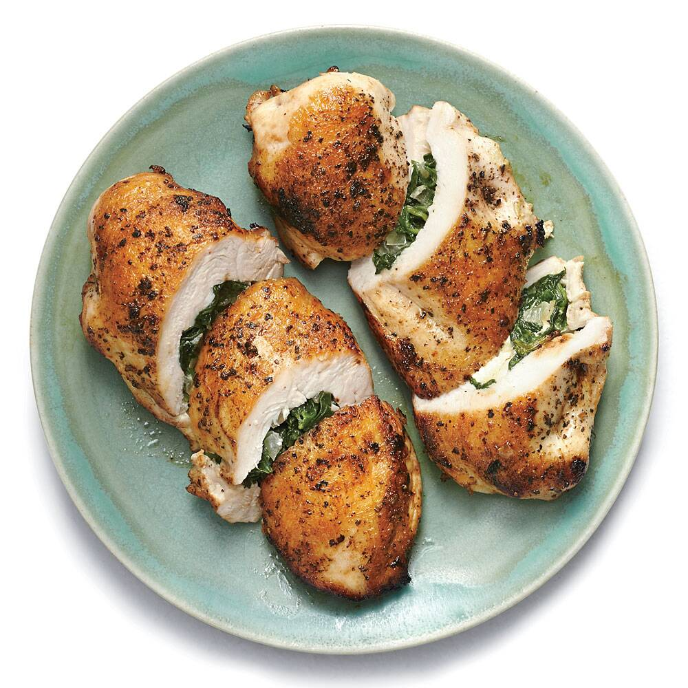 Spinach and feta stuffed chicken breasts recipe myrecipes forumfinder Choice Image
