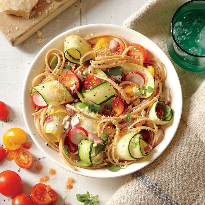 Summer veggie pasta recipe myrecipes summer veggie pasta forumfinder Gallery