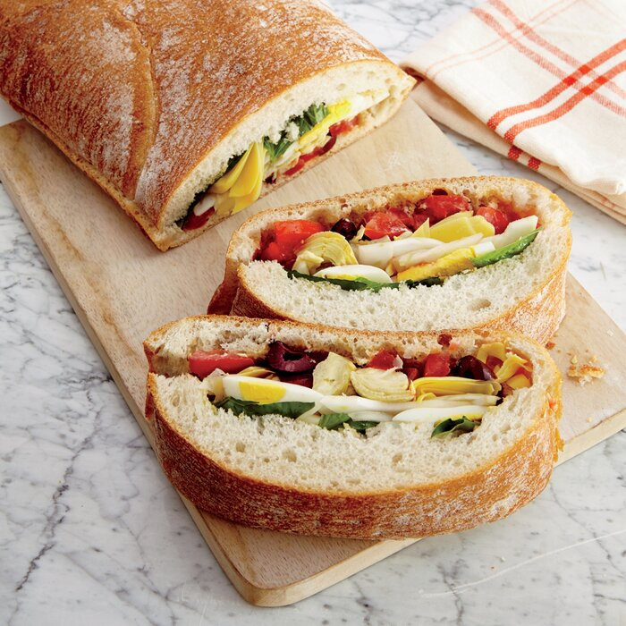 Summer Veggie Sandwich Recipe