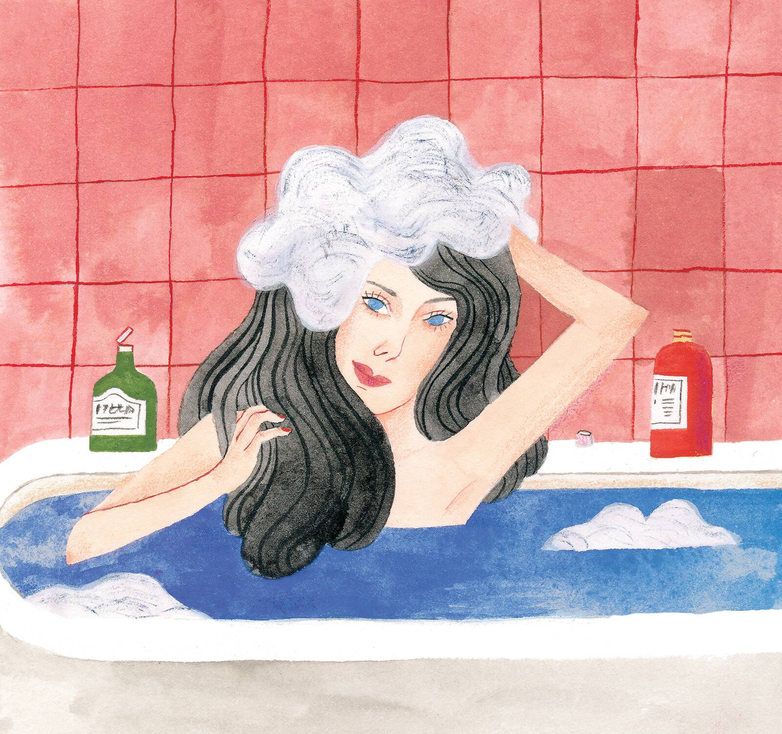 Illustration: Halve Your Shower Time