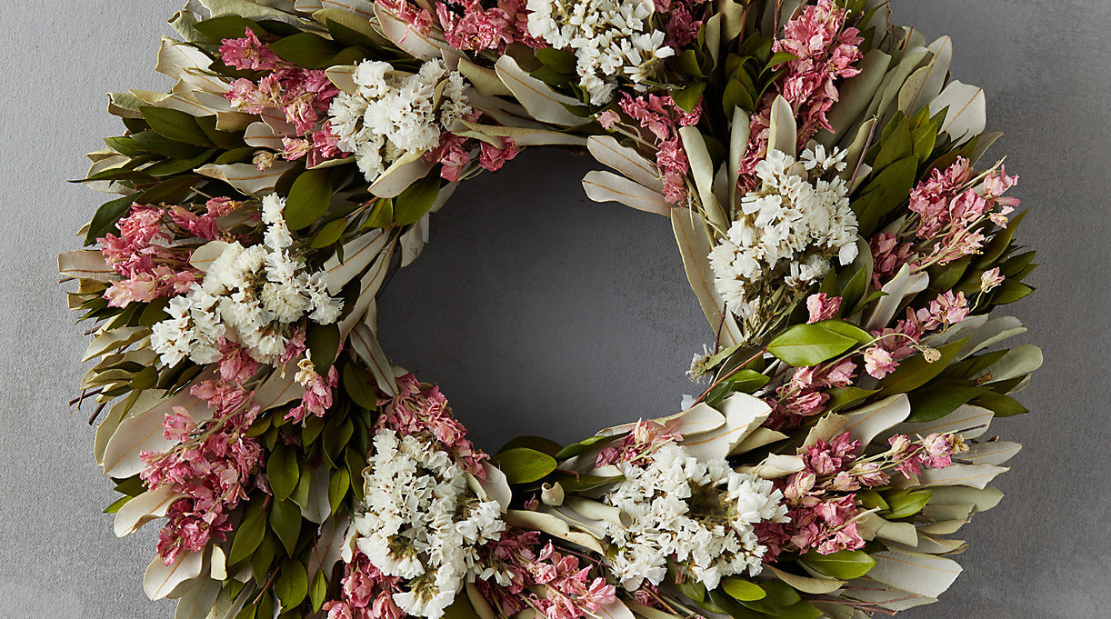 Terrain Dried Flower Wreath