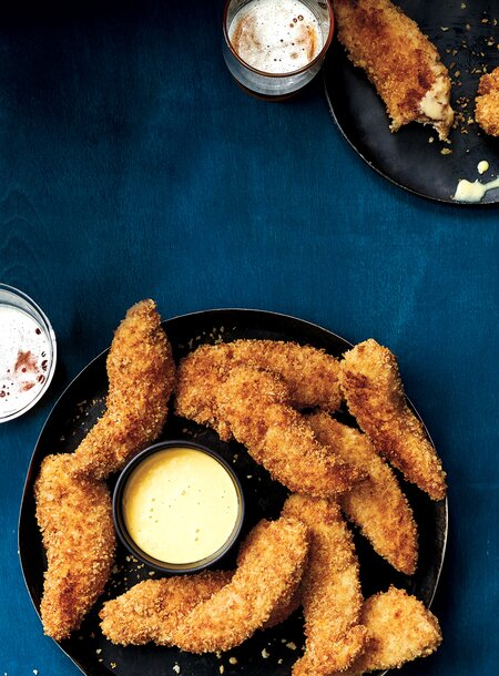 Oven Baked Chicken Tenders Recipe Real Simple