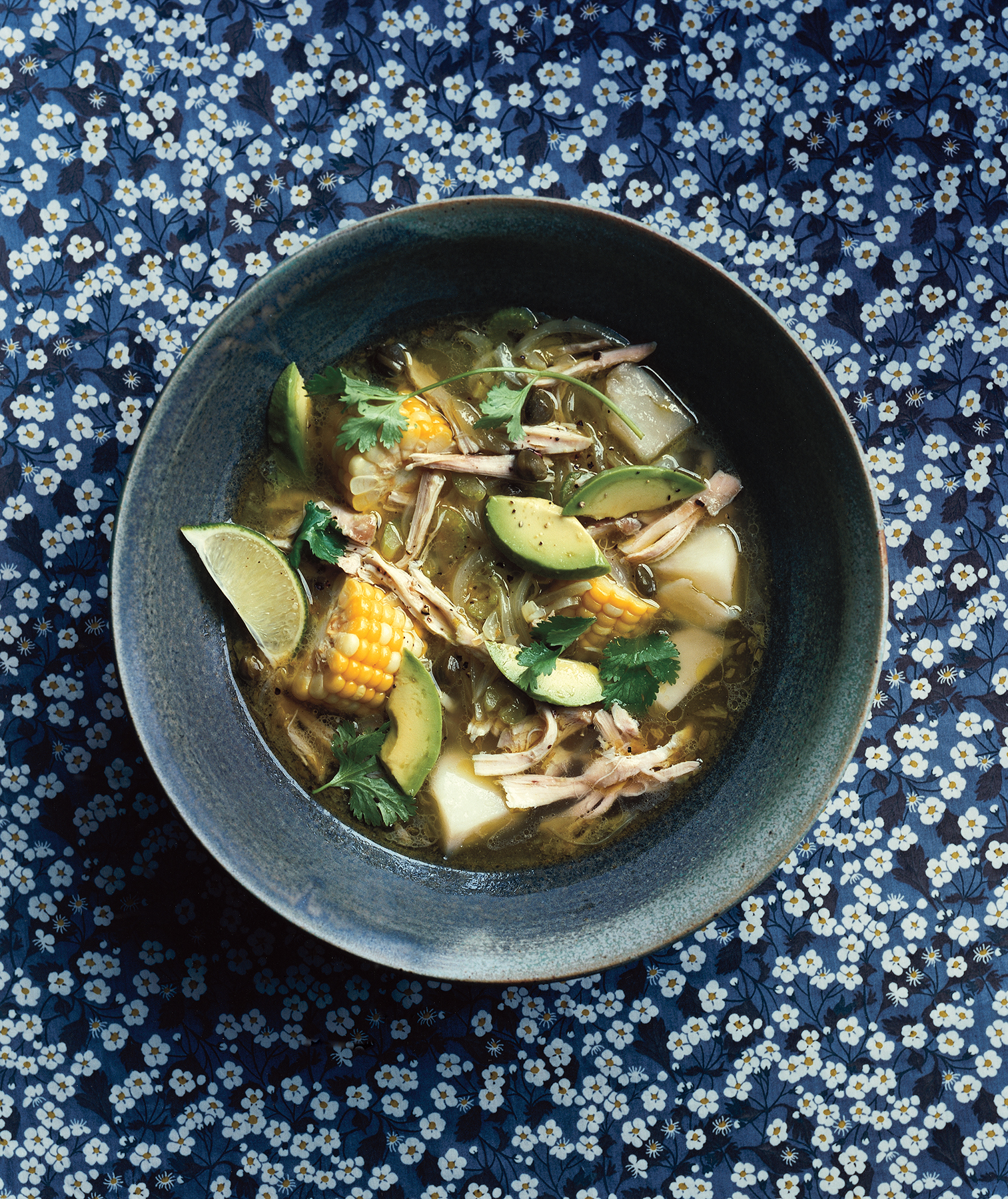Colombian Chicken And Potato Soup Recipe Real Simple