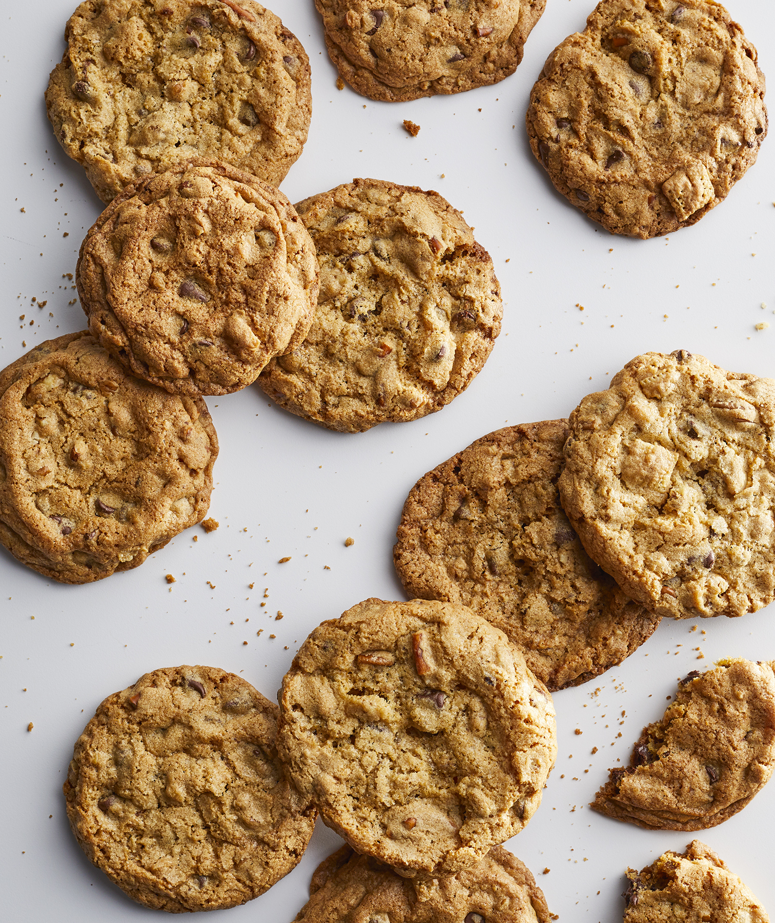 Giant Kitchen Sink Cookies Recipe Real Simple