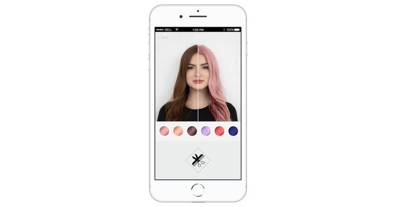 This App Lets You Test Drive Trendy Hair Colors Real Simple