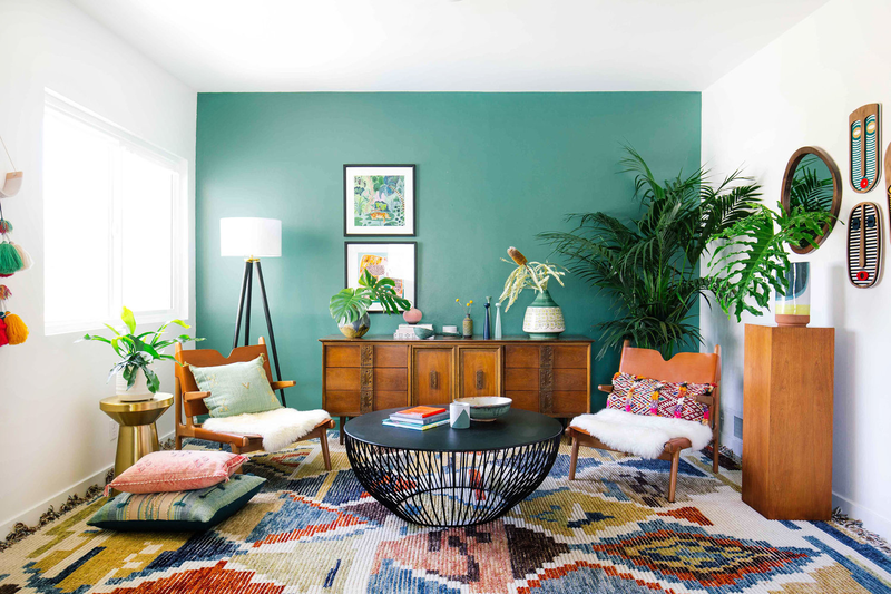 Green Accent Wall