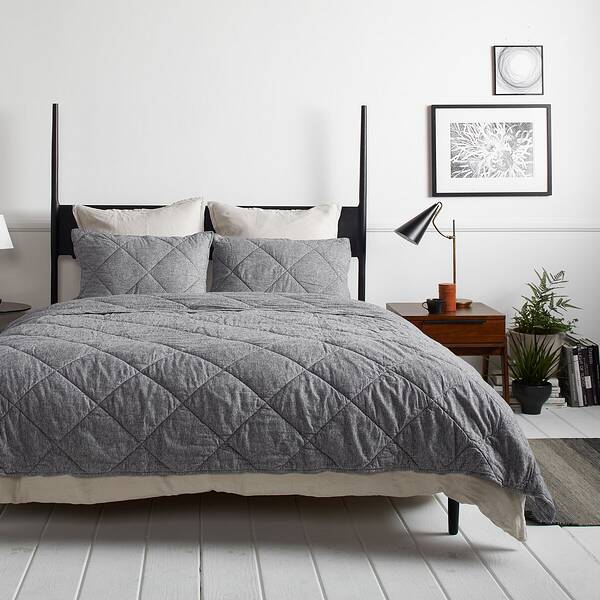 Parachute Home Gray Flannel Bedding