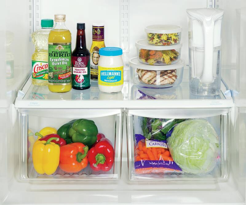 Stock a Healthy Refrigerator - Real Simple on kitchen dish storage, kitchen food storage, kitchen vegetable storage,