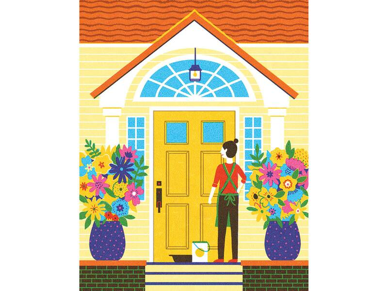 How To Paint A Front Door Real Simple