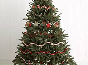 garland tree christmas - When Do You Decorate For Christmas