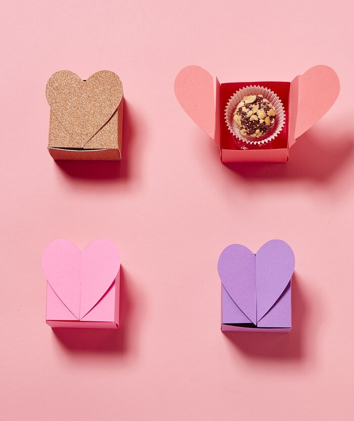 7 Super-Sweet Valentine\'s Day Candy Boxes You Can Make   Real Simple