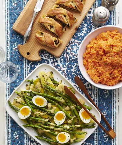 Easter brunch 2018 recipes for every style real simple vegetarian easter menu forumfinder Image collections