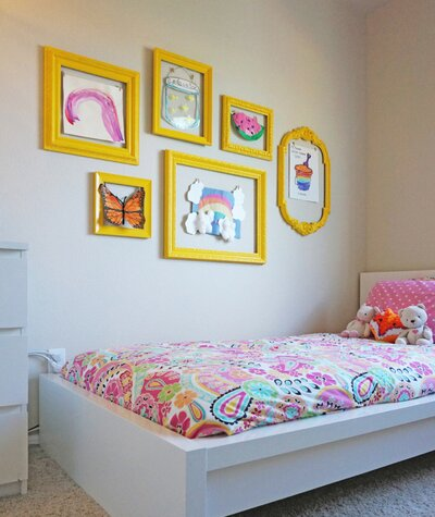 6 Ways to Display Your Kid\'s Artwork | Real Simple