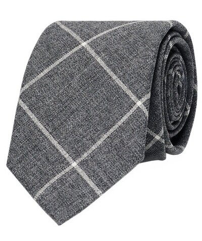 6 great ties for dads and grads real simple club monaco windowpane tie ccuart Image collections