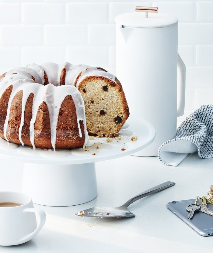 Applesauce Raisin Bundt Cake