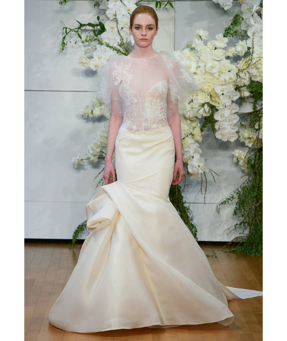 The Top Bridal Gown Trends This Spring   Real Simple
