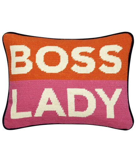 Unique gifts for women real simple boss lady pillow negle Choice Image