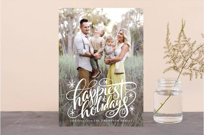 minted holiday photo card - Best Holiday Cards