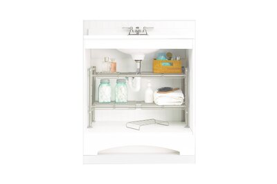 Expandable Under-the-sink Storage Rack