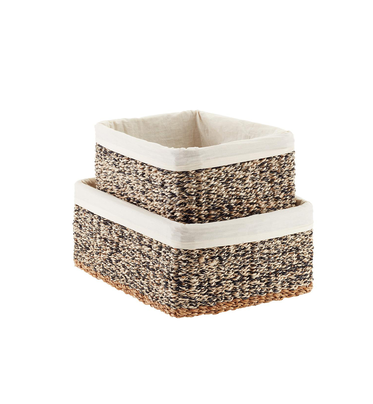 Container Store Woven Bins