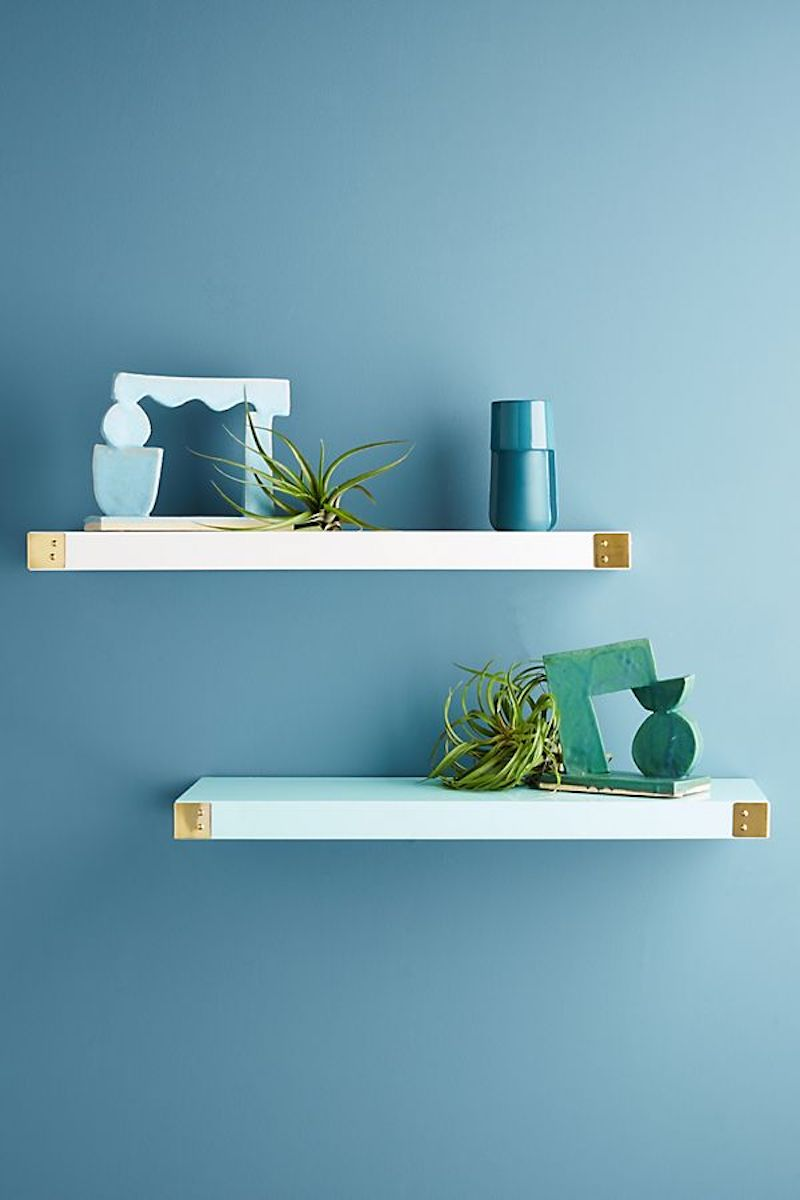 Anthropologie Floating Shelves