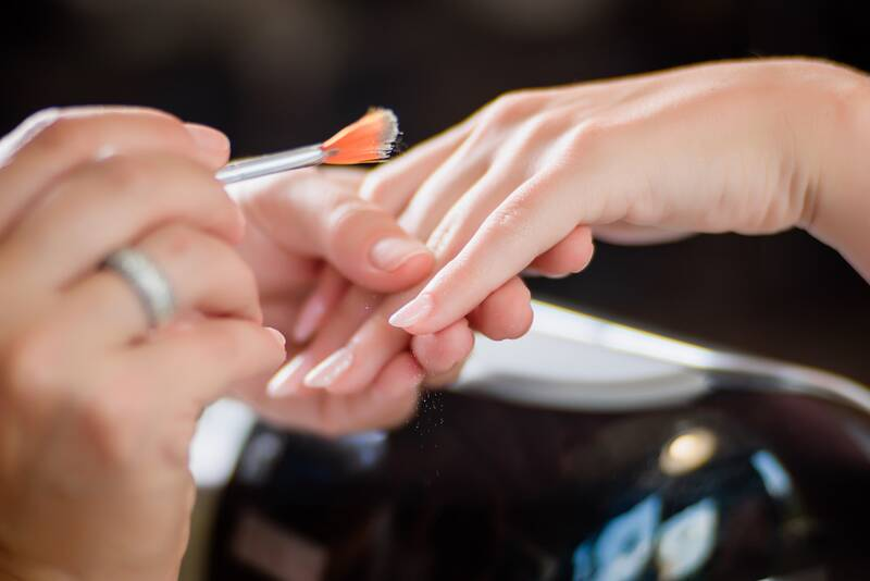 40 Ideas For Wedding Nails With The Perfect Amount Of Flair Real