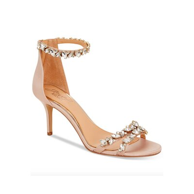 Jewel Badgley Mischka Caroline Embellished Sandal