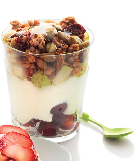 Six-Layer Parfait-in-a-Jar