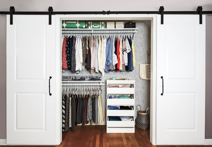 One Way To Make Your Bedroom Closet Feel Bigger Neater And All