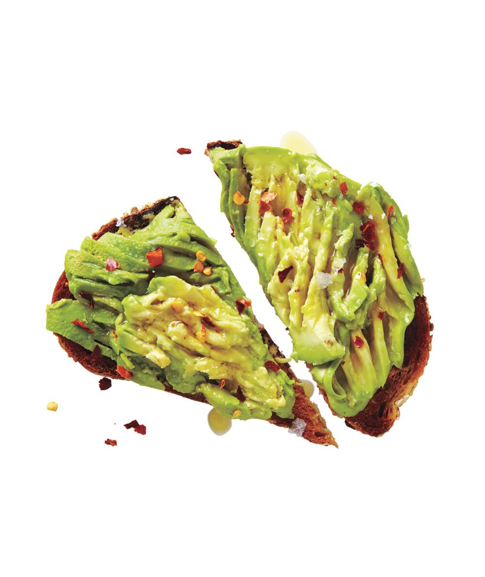 avocado toast recipe real simple