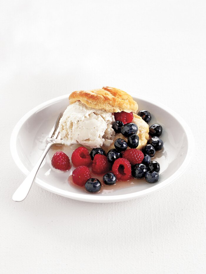 Easy ice cream recipes real simple berry and ice cream shortcakes forumfinder Gallery