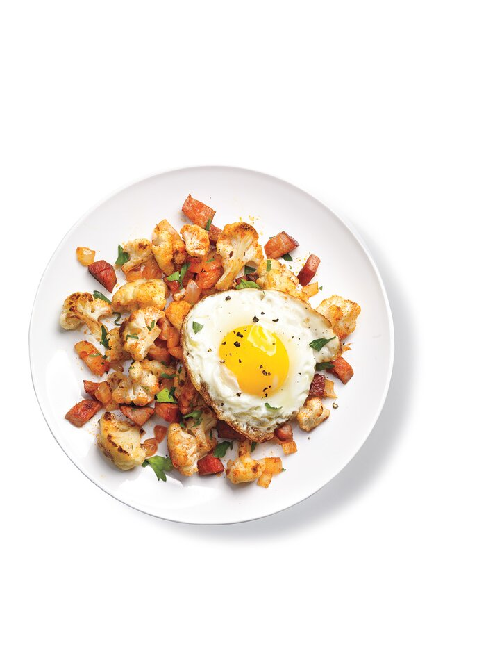 10 easy ham recipes real simple cauliflower and ham hash forumfinder Gallery