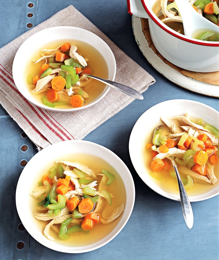 Classic chicken soup recipe real simple classic chicken soup forumfinder Images