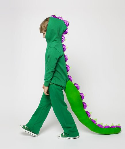 Simple halloween costumes real simple boy wearing dragon costume solutioingenieria Choice Image