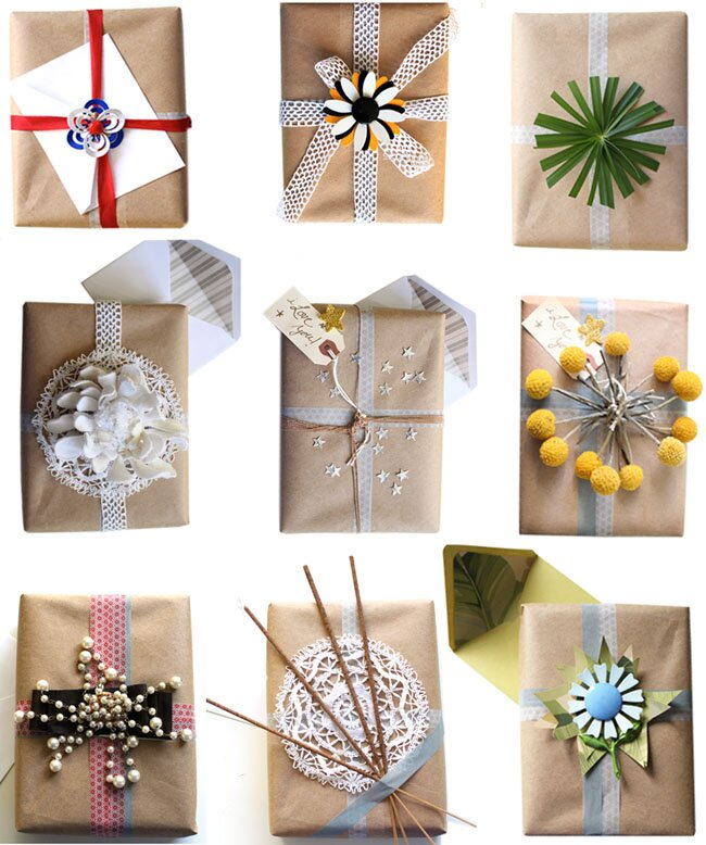 5 unique gift wrap ideas youll never find in a store real simple earth friendly gift wrapping ideas negle Gallery