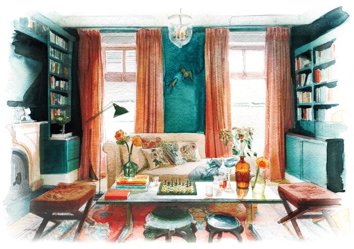 How to Design a Modern Living Room | Real Simple