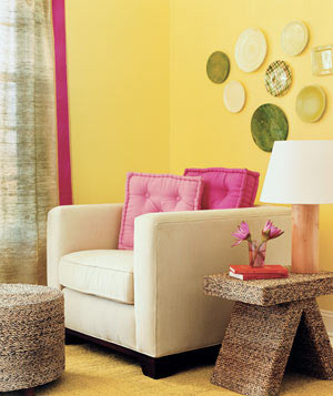 Living Room Wall Decorating Ideas 20 low-cost decorating ideas | real simple