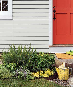 Easy Garden Ideas For Small Spaces easy gardens for small spaces | real simple
