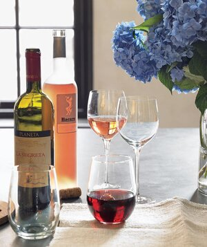 Host a wine tasting party real simple wine and wine glasses solutioingenieria Images