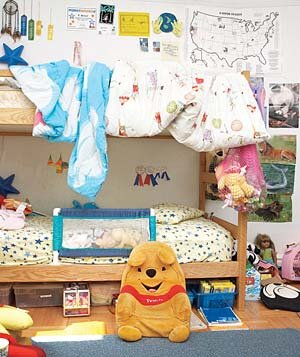 Childrens Messy Bedroom James Baigrie