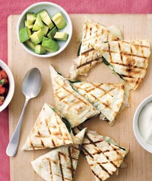 20 best chicken recipes on pinterest real simple grilled chicken and spinach quesadillas forumfinder Image collections