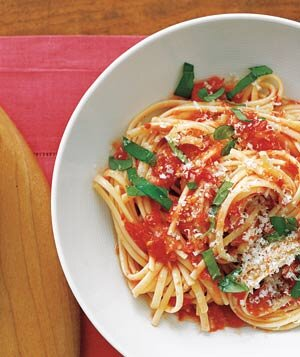 Real simple daily recipe newsletter real simple pasta with fresh tomato sauce forumfinder Images