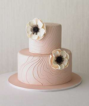 Tiered cake decorated with flowers12 Great Wedding Cakes   Real Simple. Real Simple Wedding Cakes. Home Design Ideas